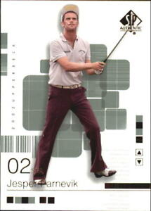 2002 SP Authentic Golf Card #s 1-90 (A7635) - You Pick - 10+ FREE SHIP