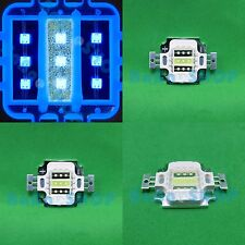 10W B+W+B Royal Blue Cold White Hybrid LED Lamp Light Spotlight for Aquarium
