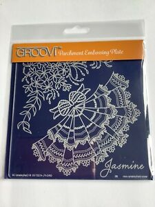 Groovi Plate A5 Square - Jasmine