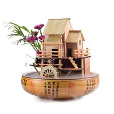 Fountain 10 in. Bamboo House -Complete with Pump, Tubing and Decorative Pot