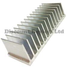 Dissipatore di calore in alluminio 60x165.5x35mm amplificatore di potenza/fornitura/TRANSISTOR/IC/FET/Pa