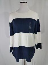 NWT Tommy Hilfiger  SweaterNavy/White Stripes Size2XL Orignal Price $ 59.99