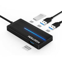 USB Hub Splitter 4-Port USB 3.0 Adapter Geschwindigkeit Bis zu 5 Gbps Für PC