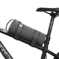 Bike Bicycle Handlebar Tube Fronts Bag Waterproof Pouch Holder Frame Case