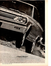1965 DODGE CORONET 426/365 HP ~ ORIGINAL 5-PAGE ROAD TEST / ARTICLE / AD