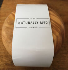 Naturally Med Olive Wood Salt/sugar Pot