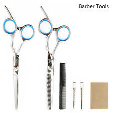 Set of 6 Hair Cutting Thinning Scissors Hairdressing Tool for Stylist Profession