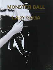LADY GAGA * THE MONSTER BALL TOUR PROGRAMME w/ BUTTON BADGE PACK * 2009/10 * HTF
