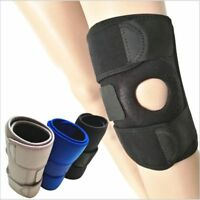 Adjustable Knee Patella Support Brace Sleeve Wrap Cap Stabilizer Sport Free Size