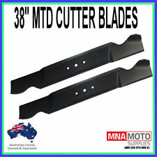 38 INCH CUTTER BLADES SUITS SELECTED MTD RIDE ON MOWERS 742-0473A