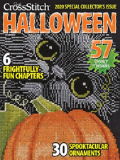 Just Cross Stitch Magazine 2020 Special Halloween Issue 58 Spooky Designs!