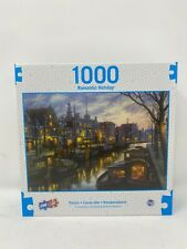 TCG SureLox Romantic Holiday Canal Life Puzzle 1000 Pieces New
