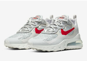 Nike Air Max 270 React White Multi Size US Mens Athletic Running Shoes Sneakers
