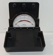 Vintage Westinghouse Portable DC/Direct Current Amperes Meter