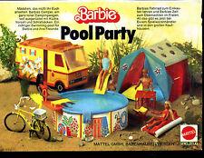 Barbie-- Pool Party -- Mattel -- Werbung von 1978--