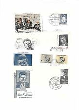 J.F.K.(J.F.Kennedy)-27 good covers from around world commemorating U.S.President