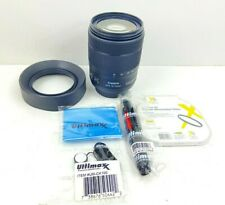 Canon EF-S 18-135mm f/3.5-5.6 IS USM Lens With Accessories