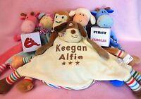New Baby Comforter Blankie Blanket Gift - New baby gift. Birthday gift.