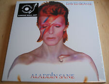 david bowie  aladdin sane  stretch canvas wall art 40cm x 40cm official new