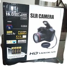 SLR Camera 2.4'' TFT LCD Screen HD 1080P 16MP 16X Zoom Lens Anti-shake Tool