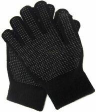 Mens Magic Stretch Big Full Finger Gloves Grip Gripper Work Glove Driving