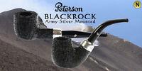 PIPA PIPE PFEIFE PETERSON OF DUBLIN BLACKROCK ARMY SILVER MOUNTED MODELLI VARI
