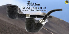 PIPA PIPE PFEIFE PETERSON OF DUBLIN BLACKROCK ARMY SILVER MOUNTED MODELLI VARI