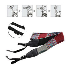 Vintage Camera Shoulder Neck Strap Belt For DSLR SLR Nikon Sony Canon Panasonic