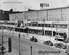 1930 Cleveland Ohia Cleveland Arena Home of Cavaliers & Barons 8 X 10 Photo Pic