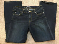 American Outfitters Womens Stretch Jeans Favorite Boyfriend Size 14 Long