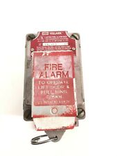 New listing Killark Xal53 Fire Alarma Operate Lift Door & Pull Ring Down