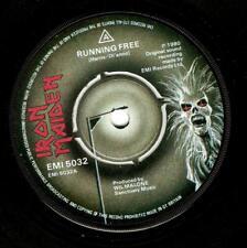 IRON MAIDEN Running Free Vinyl Record 7 Inch EMI 5032 1980 Original UK Pressing