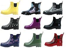 New Women's waterproof Short Ankle Rubber Rain Boots