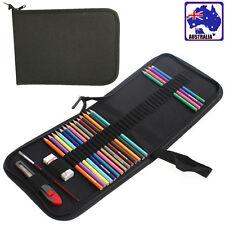 48 Holes Foldable Canvas Pen Pencil Case Bag Storage Pouch Holder SPBAG 0048
