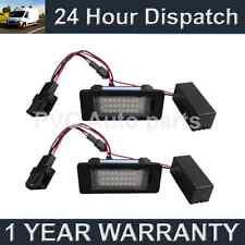2x Per VW Transporter Caravelle SHARAN 18 LED BIANCHI penetrazione del pavimento luci di cortesia