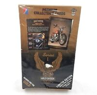 Harley Davidson Motorcycle Collector Cards Series 1 Set of 36 Packs NEW Sealed