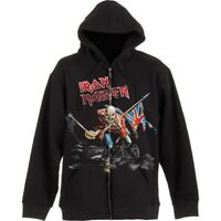 Iron Maiden 'Scuffed Trooper' Zip Up Hoodie - NEW & OFFICIAL!