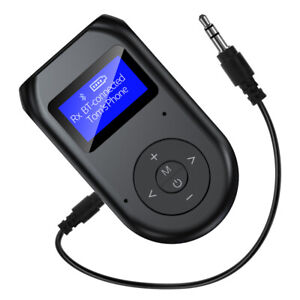 3.5mm AUX Stereo Wireless Adapter Bluetooth 5.0 Audio Receiver Transmitter