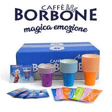 Kit Accessori monouso 300 pezzi Caffè Borbone Bicchierini + Palette + Zucchero