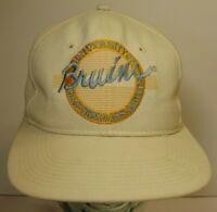 Vintage 1990s UCLA Bruins CIRCLE LOGO THE GAME GLUED TAG NCAA SNAPBACK HAT CAP