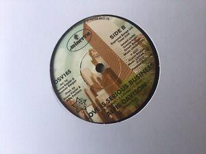 Demo - Alfie Davison - Love Is A Serious Business