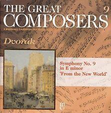 Dvorak Symphony No. 9 In E Minor CD THE GREAT COMPOSERS #9