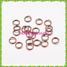 5mm 150pcs Antique Copper Bronze Jump Rings Jewelry Findings Open Split Earrings