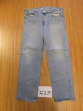 levi 501 feather destroyed USA grunge jean tag 42x34 Meas 37x30.5 22363F