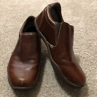 KURU Kivi Mens Size 9 Slip On Brown Shoes Comfort
