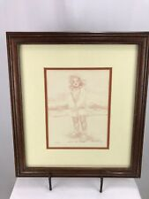 Limited Edition Lithograph Print Seer La Plage Signed Connie King 31/395