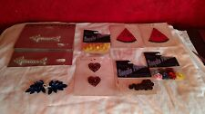 Multiple Sequin Appliques Costume Craft NOS Arrows Watermelon Hearts Leaf Flower