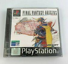 PS1 Final Fantasy Origins, Italian/Spanish Version, New & Factory Sealed, Read