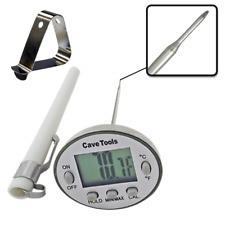 New listing Instant Read Digital Thermometer for Cooking Bbq Grilling Candy Chocolate Meat B