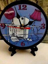 The Cure - Pill Box Tales - 5 Inch Quartz Desk Clock- / Office / Stand N Box